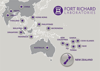 Fort Richard export markets